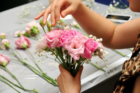 10498727 - hand made bouquet of flowers